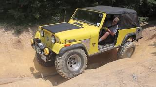 Jeepster Jam 2012 - Hard Ride