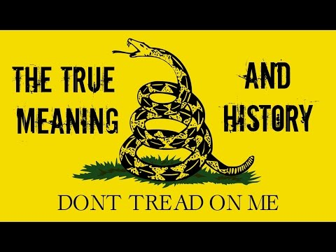 Gadsden Flag TRUE MEANING AND HISTORY