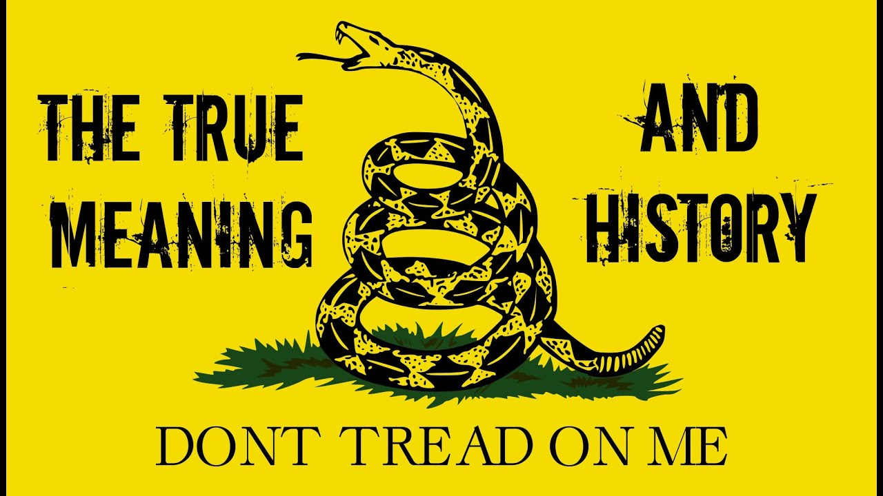 Don T Tread On Me Iphone 6 Wallpaper Gadsden Flag True Meaning And History Youtube
