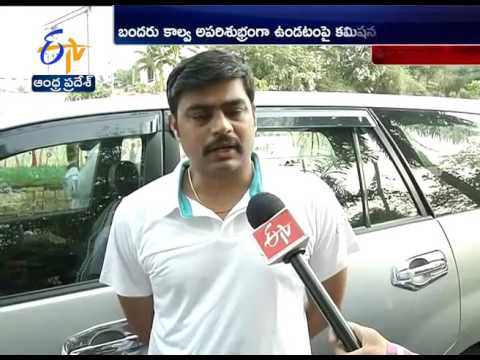 Municipal Commissioner Nivas Disappointed   Negligence by Officials Works; vijayawada