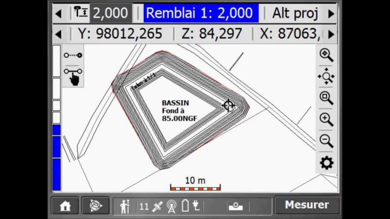 Mensura - Trimble link : Export SCS900