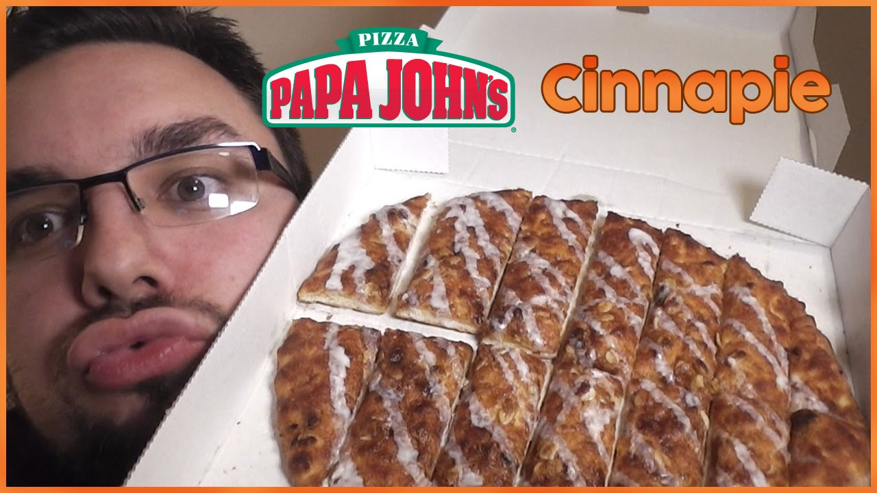 Papa John's Cinnapie | Food Review UK - YouTube
