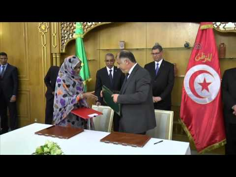 Cooperation agreement between Mauritania and Tunisia