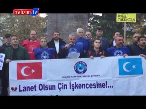 Türkiye Kamu-Sen'den  Doğu Türkistan'daki Çin Zulmüne Tepki