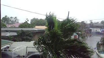 Typhoon Yolanda, Cebu City   11:00 AM November 8, 2013