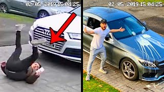 5 CRAZY MOMENTS CAUGHT ON CCTV (FREAKOUT)