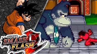 GOKU vs DK!! (EVENTOS SMASH) | Super Smash Flash 2 | Ep 7 con -- ALEX --