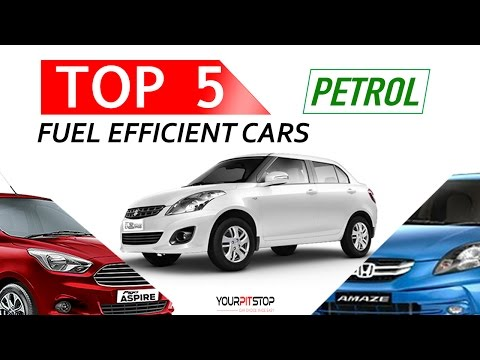 Top 5 fuel Efficient ( Best Mileage ) Petrol Sedans in India | Cars under ₹ 9 Lakh - 2016