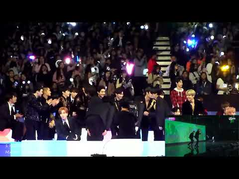171201 MAMA in HK react to BTS Cypher 4, Mic Drop (EXO, Super Junior, Taemin, Wanna One NCT etc)