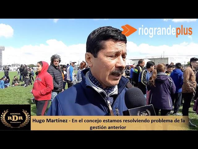 Hugo Martínez En el concejo estamos resolviendo problemas de la gestión anterior