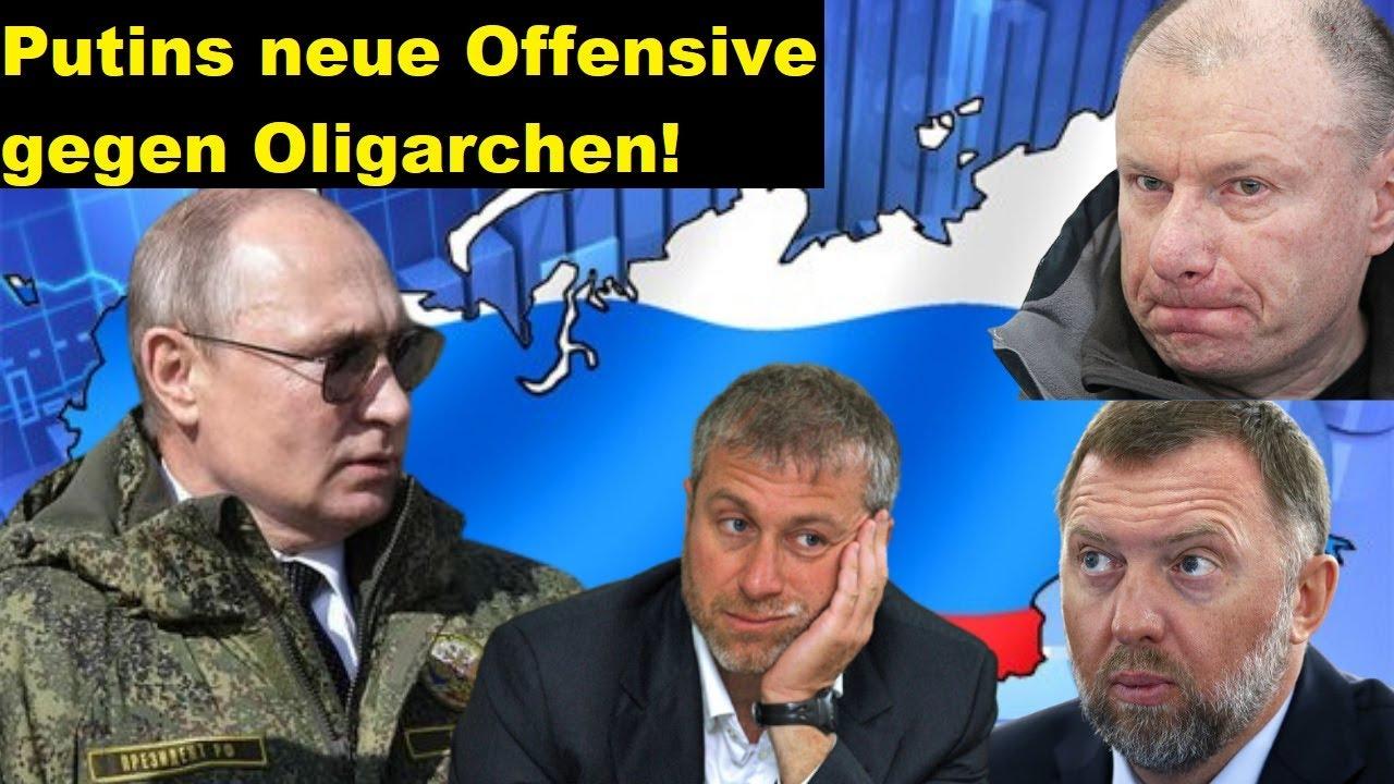 Putin versammelt wieder die Oligarchen. Wird er sie nun zerschlagen?