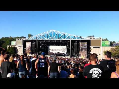 Papa Roach - Forever - Uproar 2012 / Kansas City