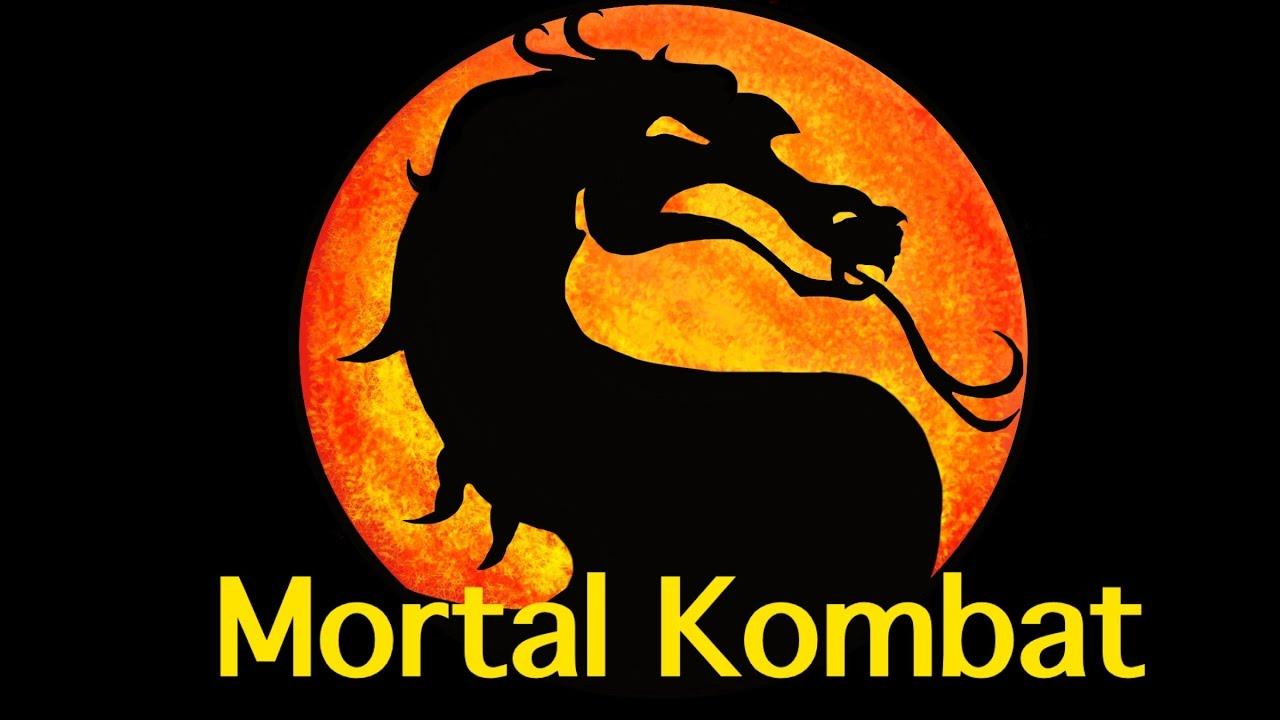 1 Minute Drawing Mortal Kombat Logo Sketchbook Pro Youtube