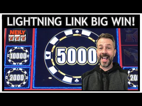 LADDER BETTING LEADS TO A BIG WIN ON LIGHTNING LINK!