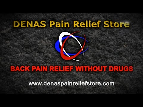 Denas Technology for back pain relief without drugs or surgery.