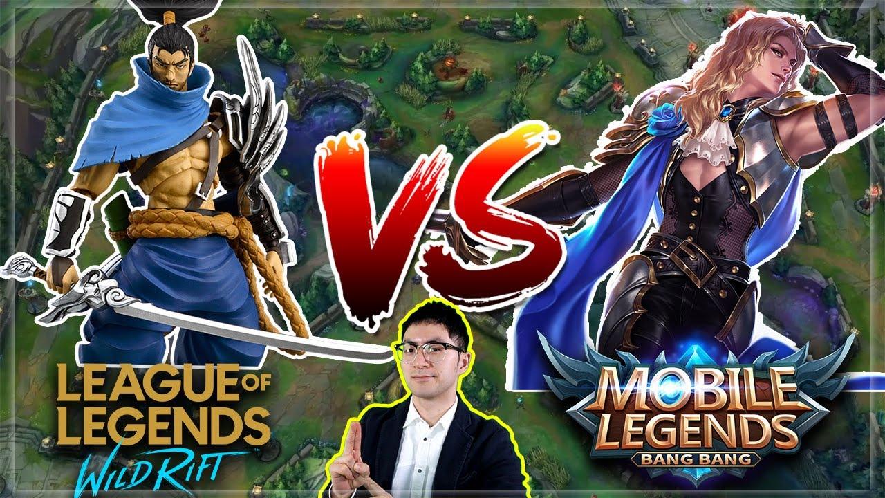 LoL Wild Rift vs. Mobile Legends REAL COMPARISON | Dave Talk