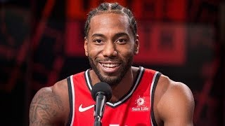 NBA Finals Media Day with Raptors, Warriors