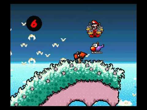 Yoshi S Island Glitch Eat Baby Mario