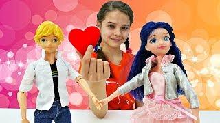 Первое свидание Маринетт и Адриана. Одевалки кукол - Игры для девочек. Салон красоты