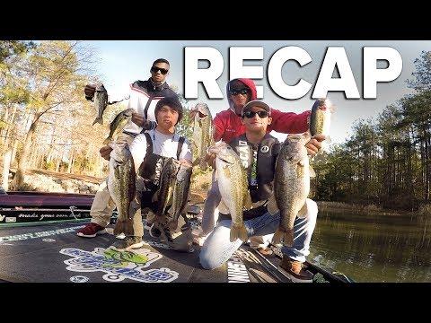 Lake Seminole Recap (College Fishing 2018)