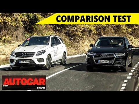 Audi Q7 Vs Mercedes-Benz GLS - Comparison Test | Autocar India