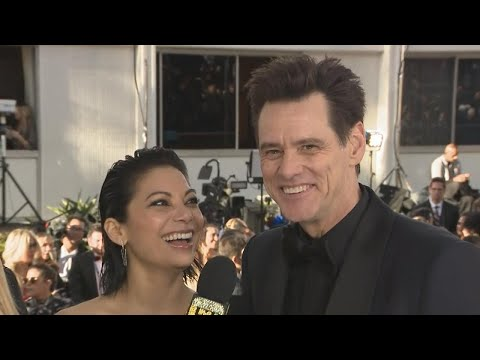Golden Globes 2019: Jim Carrey Gushes Over New GF Ginger Gonzaga (Exclusive)