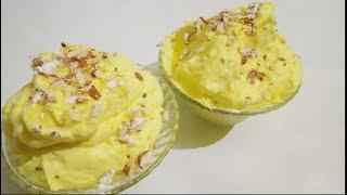 Lucknow famous malai makhan recipe/Makhan Malai recipe