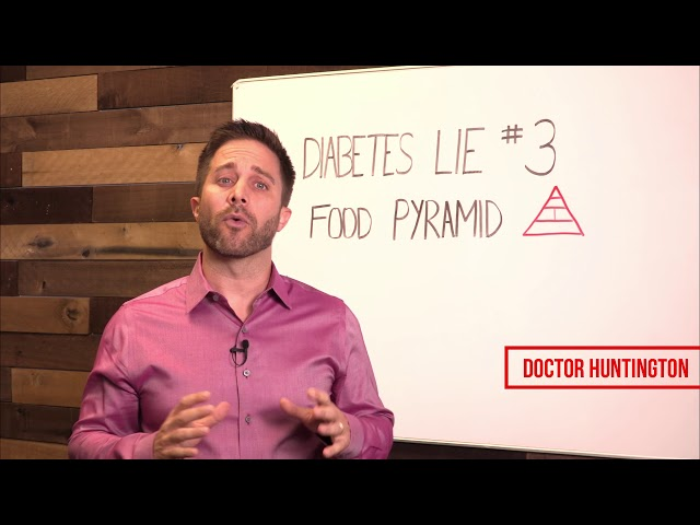 The Food Pyramid | Diabetes Lie #3 With Dr. Eric Huntington