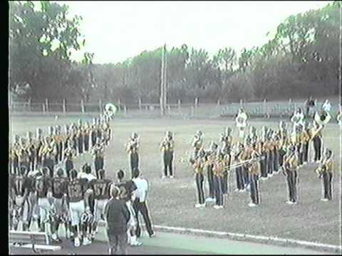 Wilmington Area High School Band and Football 1991
