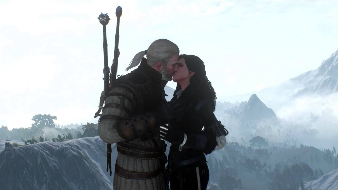 The kiss a witcher fan fiction