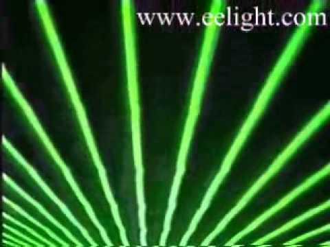 Full Color + Green Beams  laser light show with lida softwave