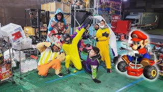 Real Life Mario Kart in Japan!