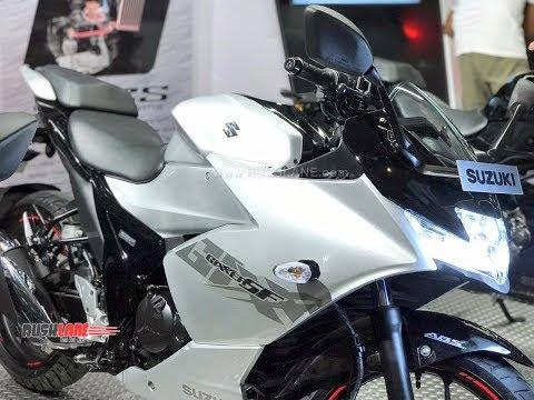 2019 Suzuki Gixxer SF 150 launched in India - Walkaround video