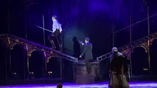 Мюзикл «Граф Монте-Кристо» 03.04.2019. К.Гордеев, Е.Газаева. Сцена драки.