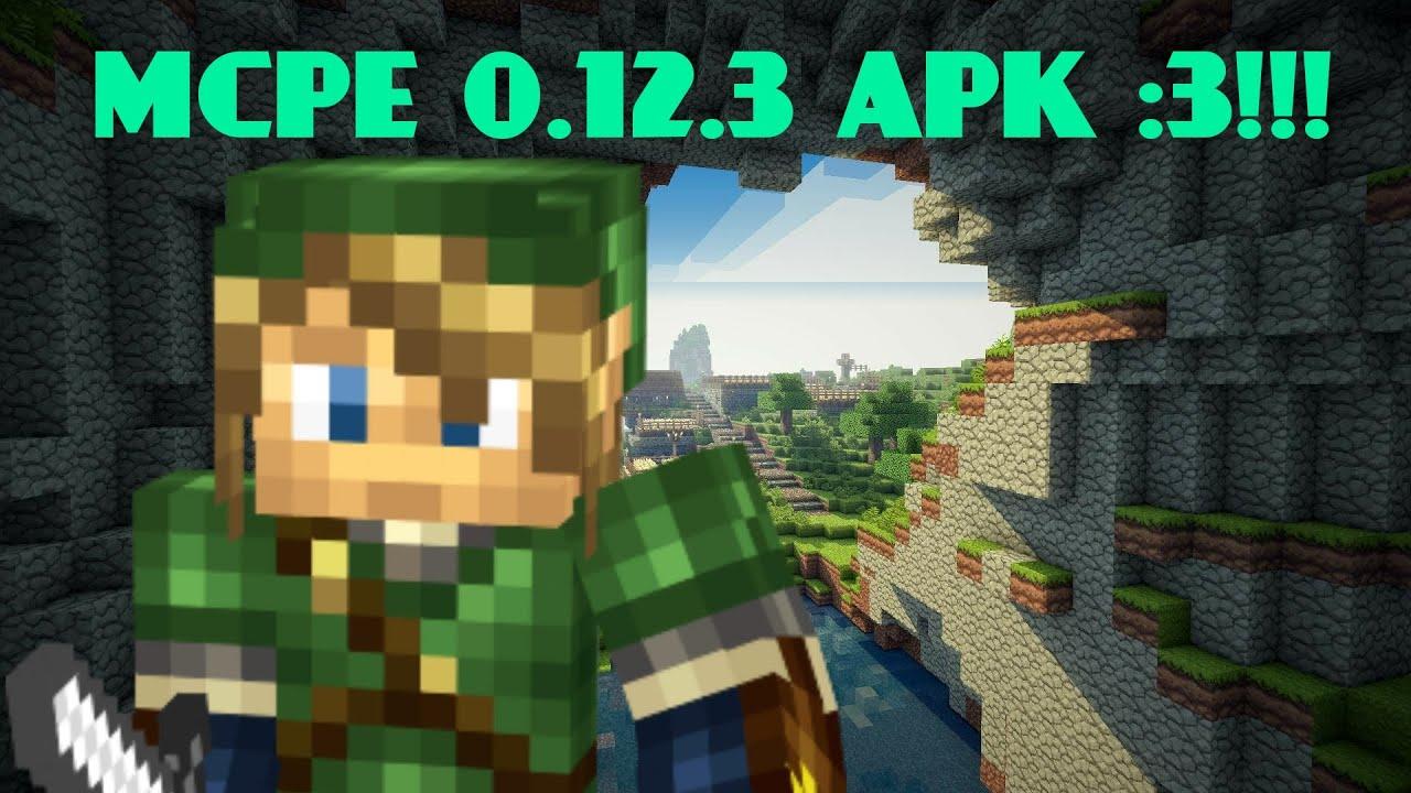 MCPE 0.12.3 APK! | LINK DE DESCARGA! - YouTube