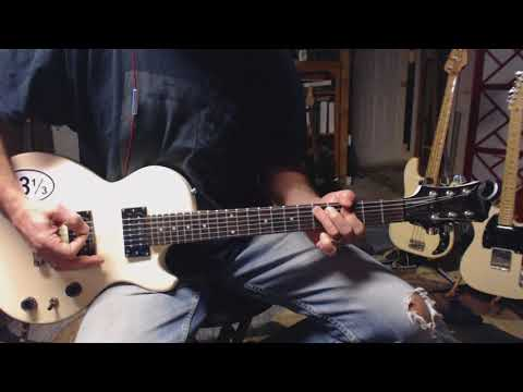 How I Play The Intro To Clint Black's Killin' Time - Electric Guitar