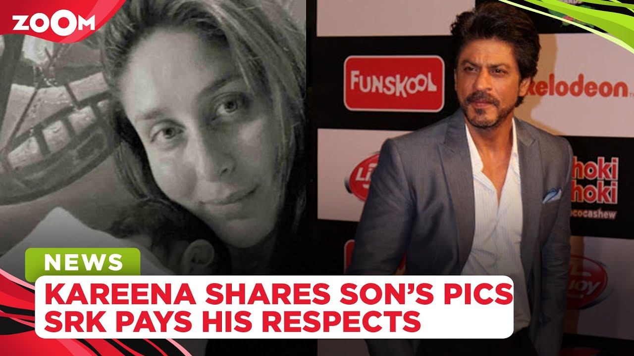 Kareena Kapoor shares the first glimpse of second son |Shah Rukh Khan visits parents' grave in Delhi