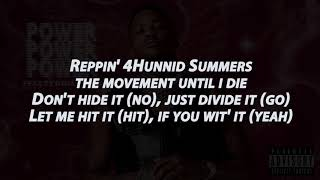 YG Power ft Ty Dolla $ign | lyrics