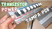 Test Power Amplifier 400W 2SC5200 2SA1943 - YouTube