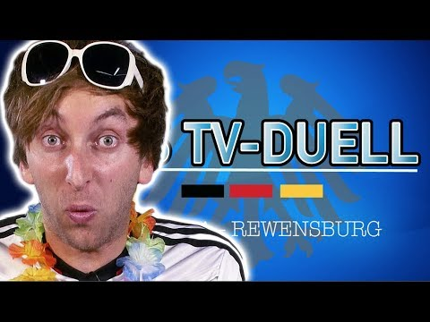 Sandra im TV Duell - Wahlen 2017