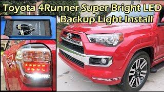 Toyota 4Runner Super Bright LED Backup Light Install - LUYED 921 LED Light