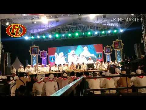 Pramuka Bershalawat Bersama Habib Syech Dan KH Anwar Zahid
