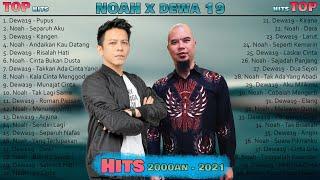 Download lagu NOAH X DEWA19 [ Full Album ] Lagu Pop Indonesia Terbaik 2000an - 2021 || Lagu Indo Terbaru