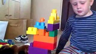 Overly long video of my brilliant adorable children playing with Legos.