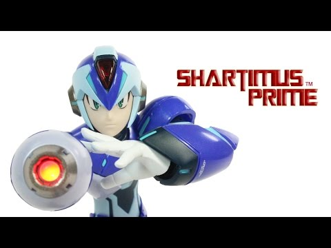TruForce Mega Man X 1:12 Scale Collectible Designs Capcom Video Game Toy Action Figure Review