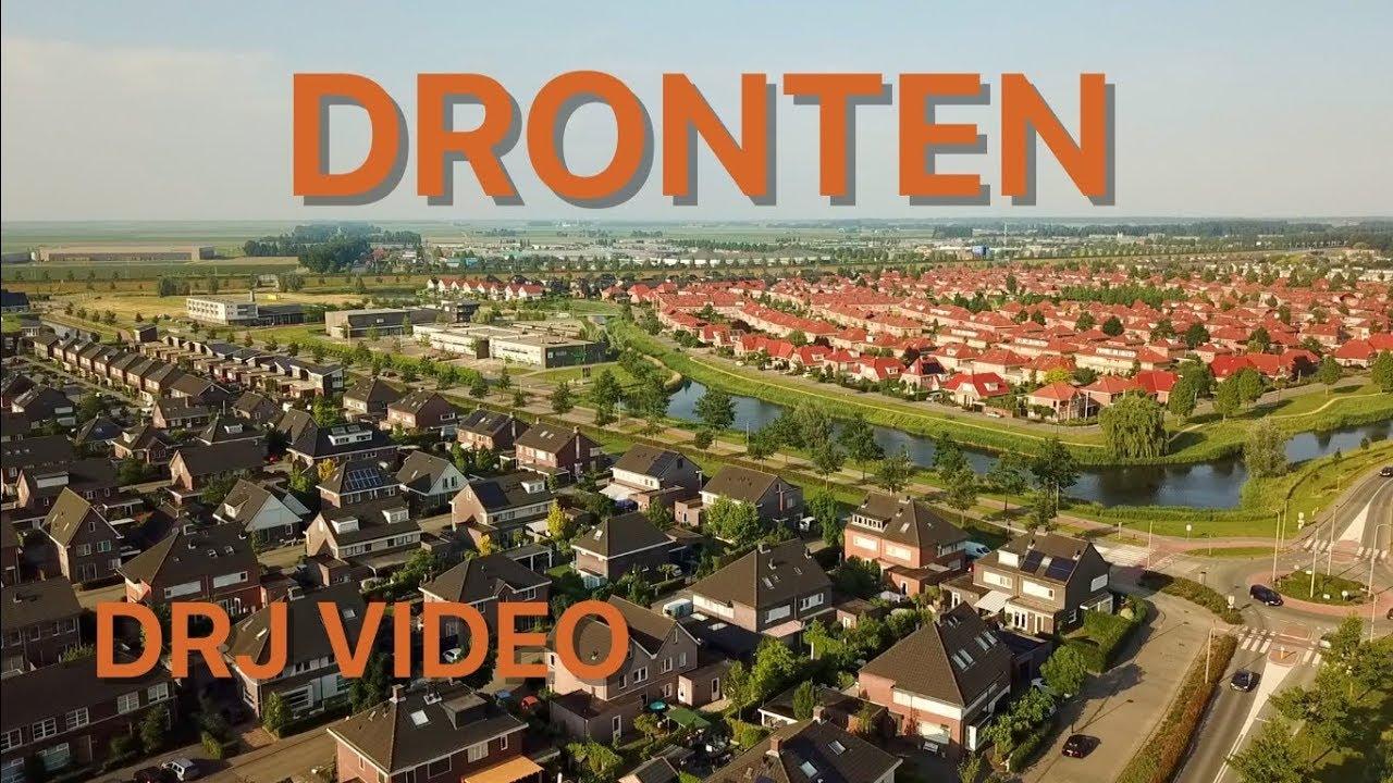 Prachtige drone beelden van Dronten - YouTube