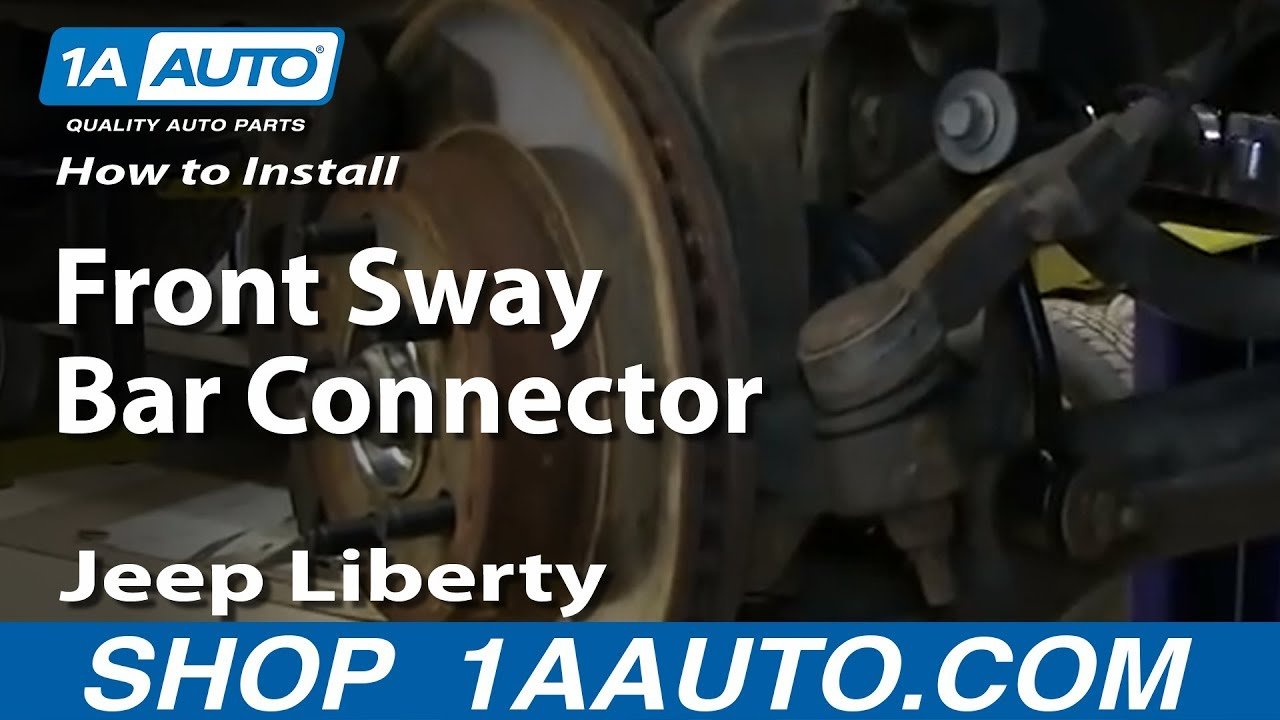 How To Install Replace Front Sway Bar Connector Link 2002