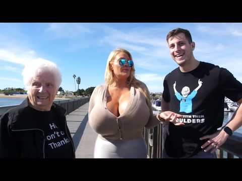 Woman Having Largest Boobs In The World Ll Guinness World Records