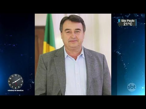 Ex-prefeito e vereadores de Araucária são presos em operação do MP | SBT Brasil (05/04/18)