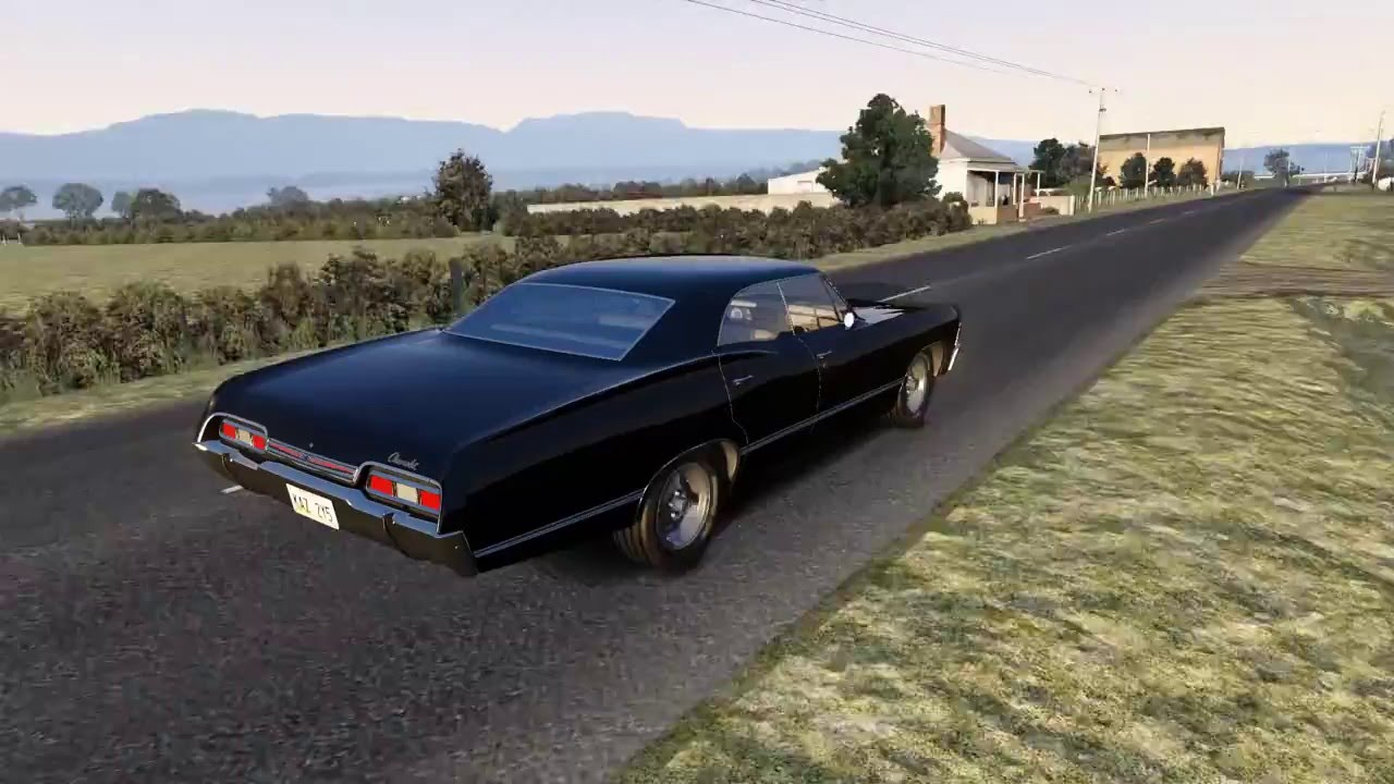 1967 chevrolet impala supernatural edition in longford. Black Bedroom Furniture Sets. Home Design Ideas